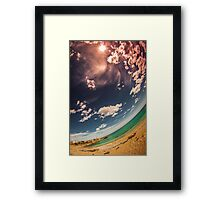 Rounded Coast Framed Print