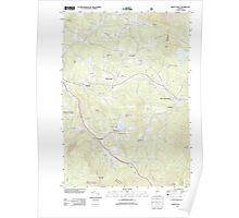 USGS Topo Map  Vermont VT Mount Holly 20120709 TM Poster