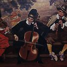 The Three Musicians by Ken Tregoning