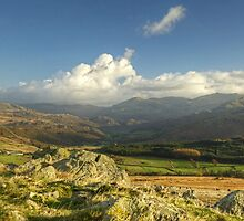 The Duddon Valley and Coniston Fells by Jamie  Green