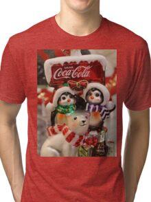 Polar Pals - Drink Coke Tri-blend T-Shirt