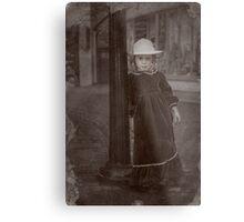 Child Of The Street Metal Print