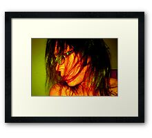 leave me be...free to be me!!! Framed Print