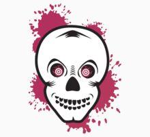 Skull & Blood by Tony  Hardy