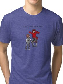 I am King under The Mountain Tri-blend T-Shirt