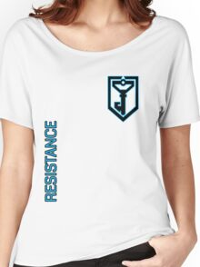Ingress Resistance - Alt colors with alt text Women's Relaxed Fit T-Shirt
