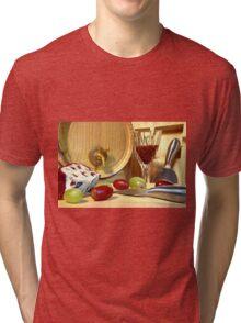 Cheese Board Tri-blend T-Shirt