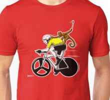 Lance has a Monkey on his Back Unisex T-Shirt