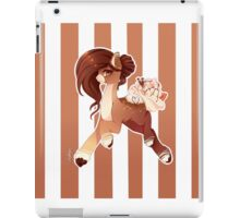 Hot Cocoa Christmas pony version 2 iPad Case/Skin