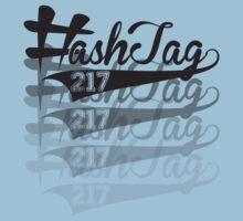 Hashtag Fade Design Kids Clothes