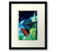 Driller Framed Print