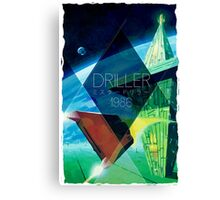 Driller Canvas Print