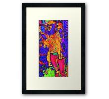 lucid locklear Framed Print