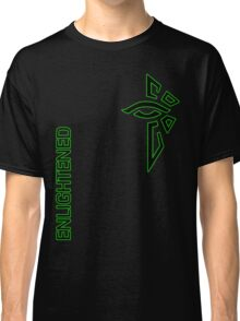 Ingress Enlightened with text Classic T-Shirt
