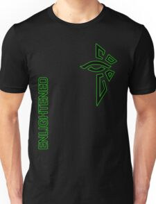 Ingress Enlightened with text Unisex T-Shirt