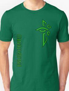 Ingress Enlightened with text - alt T-Shirt