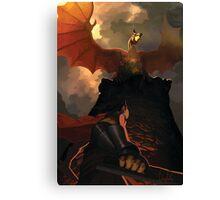 Eternal Dragon Canvas Print
