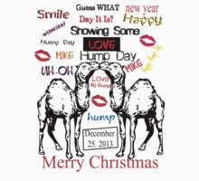 Merry Hump Day Christmas T-Shirts & Hoodies by mike desolunk