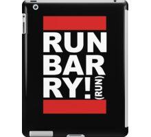 Run Barry, Run! (black) iPad Case/Skin