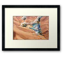 Martian Oasis Framed Print