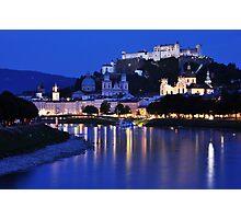 Cityscape - Salzburg Photographic Print