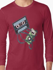 Cassettes Revenge shirt Long Sleeve T-Shirt