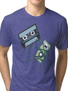 Cassettes Revenge shirt Tri-blend T-Shirt