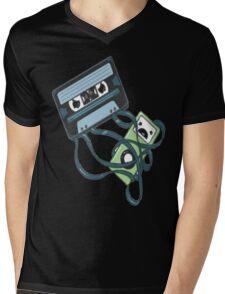 Cassettes Revenge shirt Mens V-Neck T-Shirt