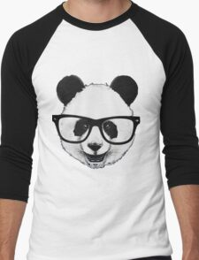 Hipster Panda Men's Baseball ¾ T-Shirt