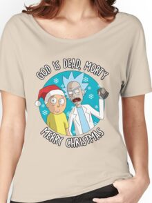 Rick & Morty -  Merry Christmas Women's Relaxed Fit T-Shirt