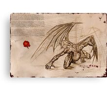Draconis Birth Canvas Print