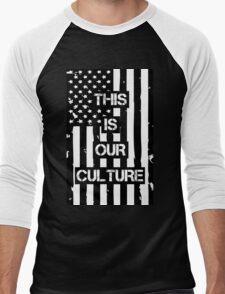 American Beauty/American Psycho (Fall Out Boy) Men's Baseball ¾ T-Shirt
