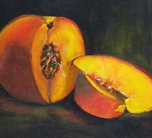 Perfect Peach by Nancy Ging (Whatcom Locavore)