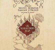 Marauder's Map by rivitt