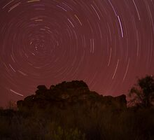 The Southern Celestial Pole, NT, Australia by Nick Delany