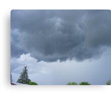 Looking For A Tornado                         Pentax X-5 Series 16 MP Canvas Print