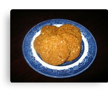 Crispy, Crunchy, Crumbly Cookies Canvas Print