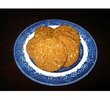 Crispy, Crunchy, Crumbly Cookies Photographic Print