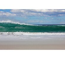 Shore Break, Tasmania Photographic Print