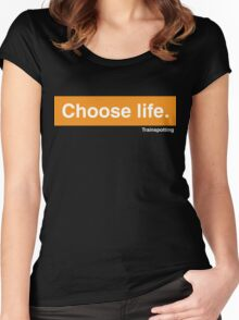 Choose Life Women's Fitted Scoop T-Shirt