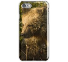 Grizzly Bear Cub-Signed-#4909 iPhone Case/Skin