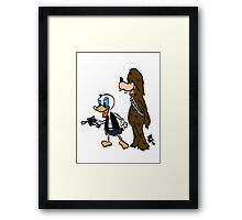 Duck Solo Framed Print