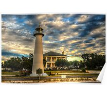 Biloxi Lighthouse and Welcome Center Poster