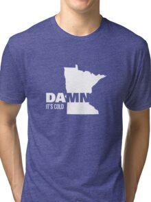 Apathetic State Advertising - Minnesota Tri-blend T-Shirt