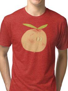 Peachy Peachy Peachy Tri-blend T-Shirt