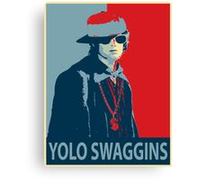 Yolo Swaggins Canvas Print