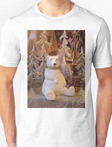 Polar Bear Sitting - 2 Unisex T-Shirt