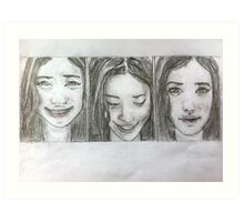The Many Faces of... Art Print