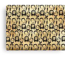 Hockey Hair Canvas Print