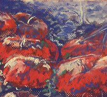 Bitter Harvest II (pastel) by Niki Hilsabeck